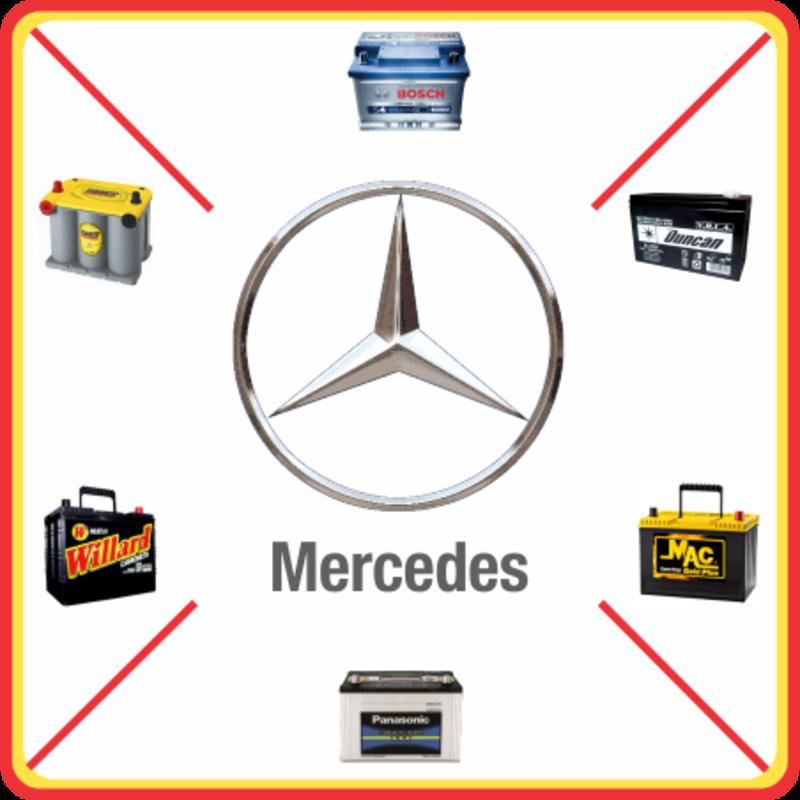 Batería para Mercedes Benz