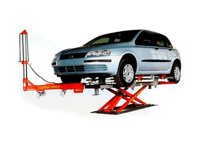 Valor de cada medida a corregir Automóvil